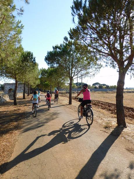 BiciTour Tra vigne e masserie