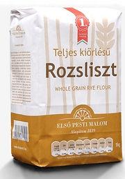 Első Pesti Malom teljes kiőrlésű rozsliszt (RL 190)