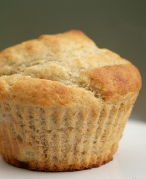 Diabetikus banános muffin