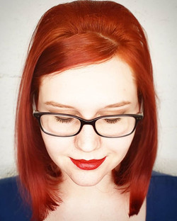 When your #redheaded muse let's you do a