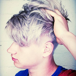 When you want to go from blonde to silve
