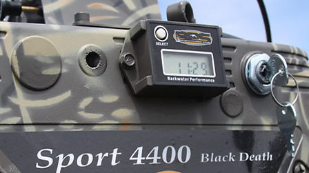 Mud Buddy Sport 4400 Black Death BPS Tachometer