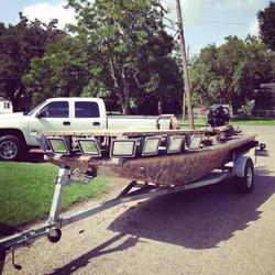 Hydroturf camo custom Venom boat