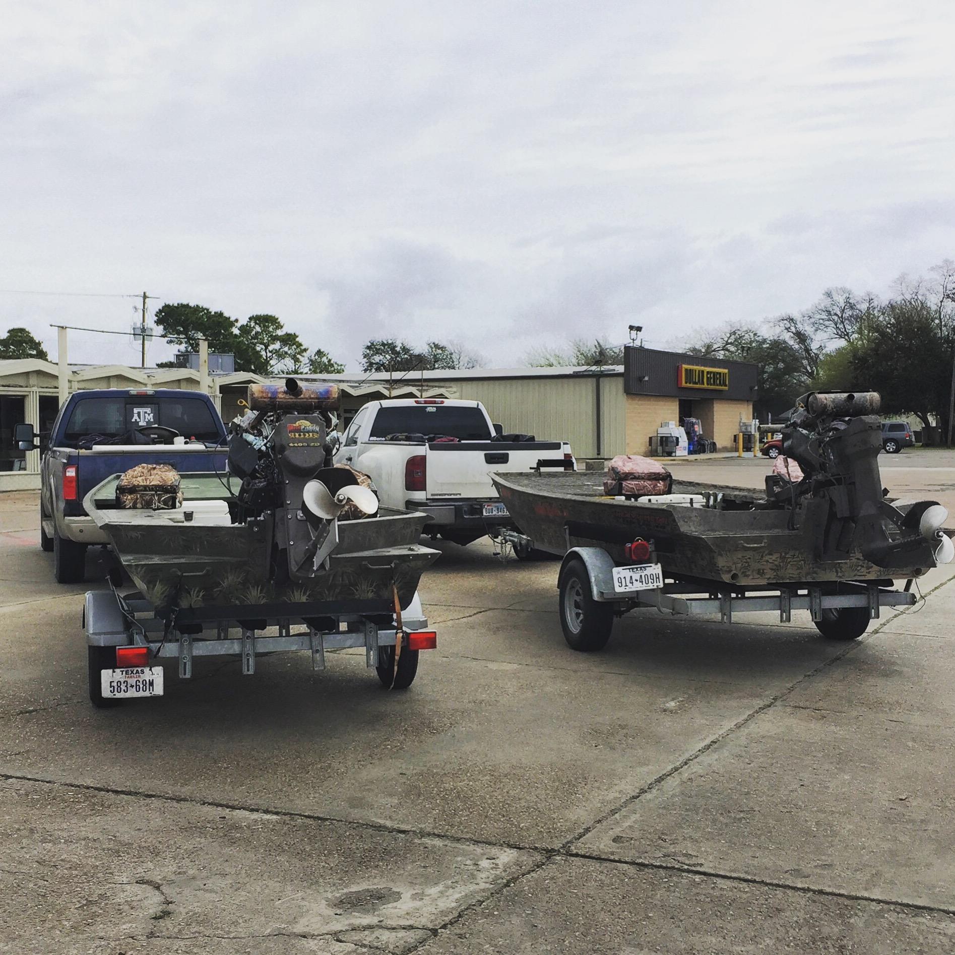custom Venom boats with mud motors
