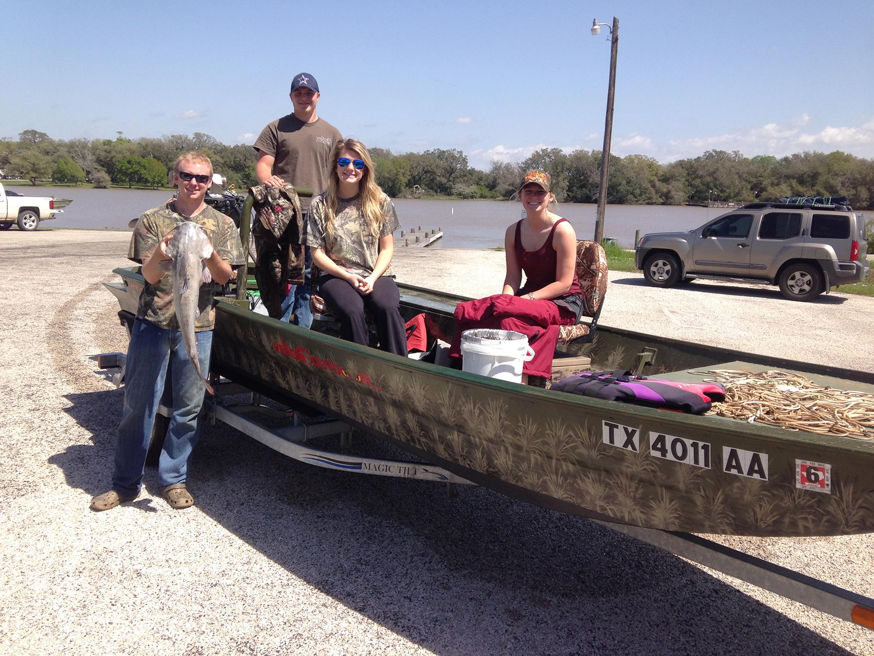 Lake Texana Fishing Trip