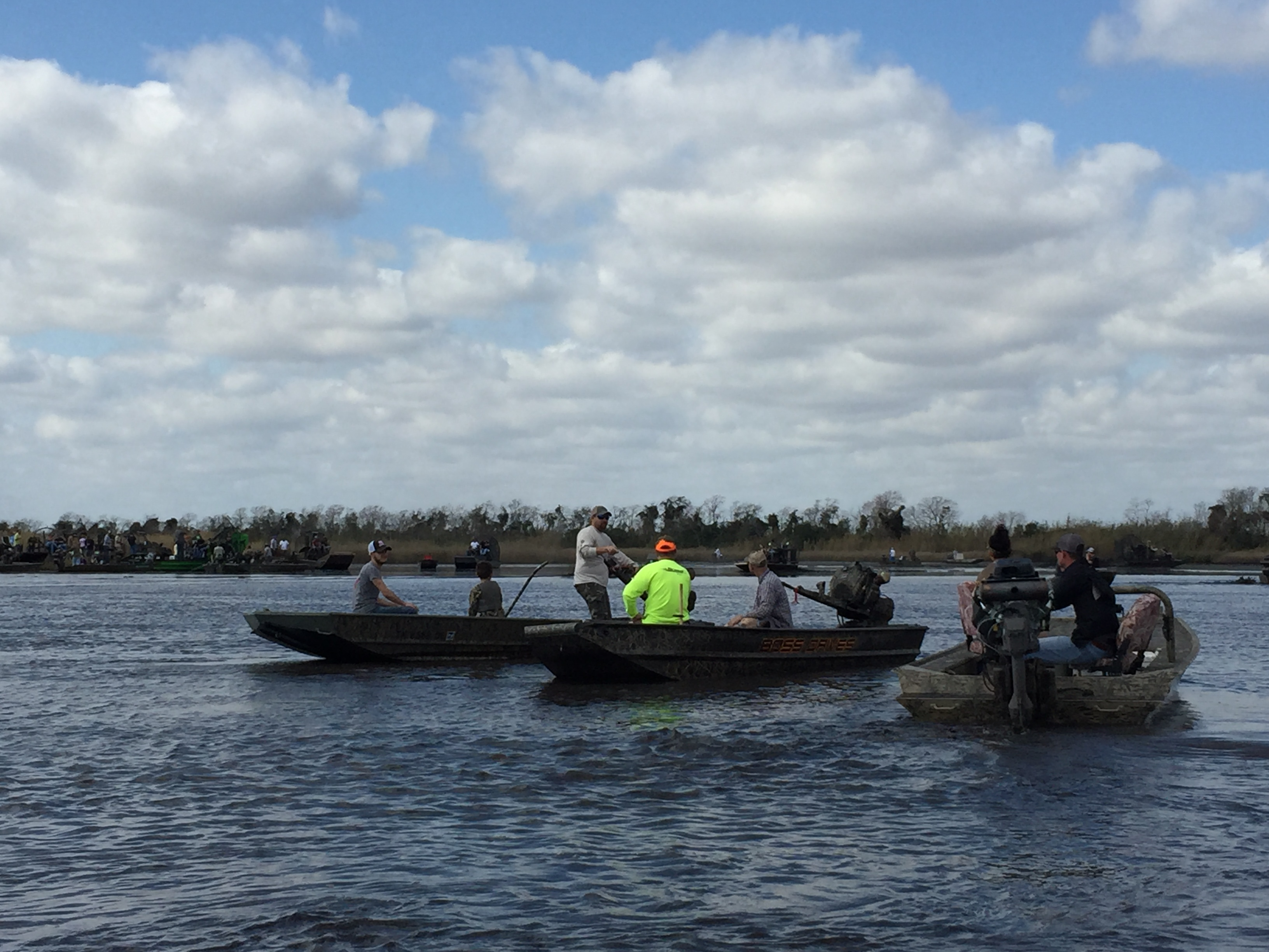 Mud Boats in Bridge City, Texas