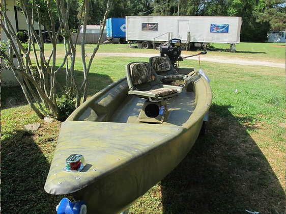 Wigeon Duck Boat