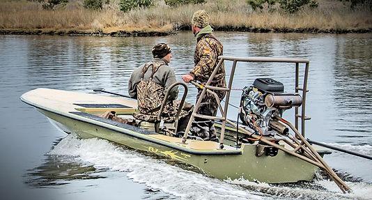 Long tail backwater swamp mud motors