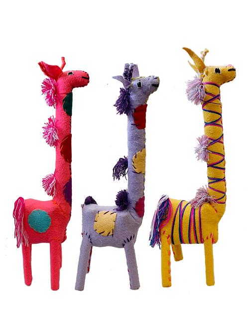 Handmade Giraffes