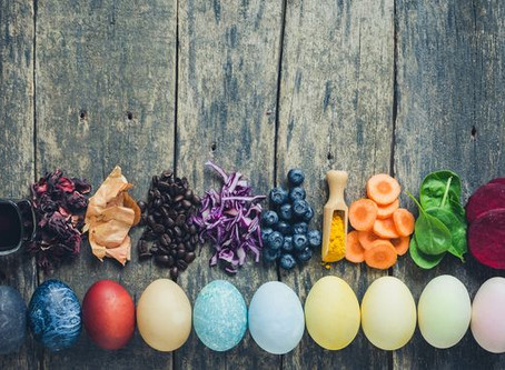 """NATURAL DYES ARE """"EGGSACTLY"""" THE THING THIS EASTER!"""