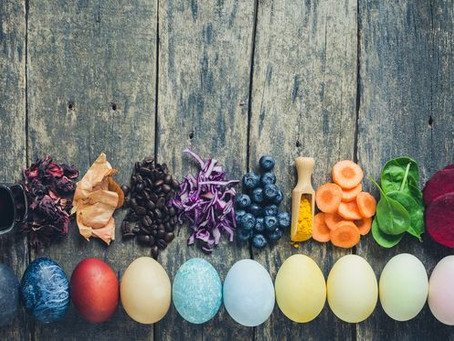 "NATURAL DYES ARE ""EGGSACTLY"" THE THING THIS EASTER!"