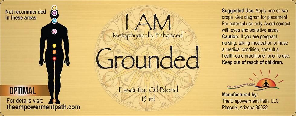 I AM GROUNDED Metaphysically Enhanced Oil 15ml