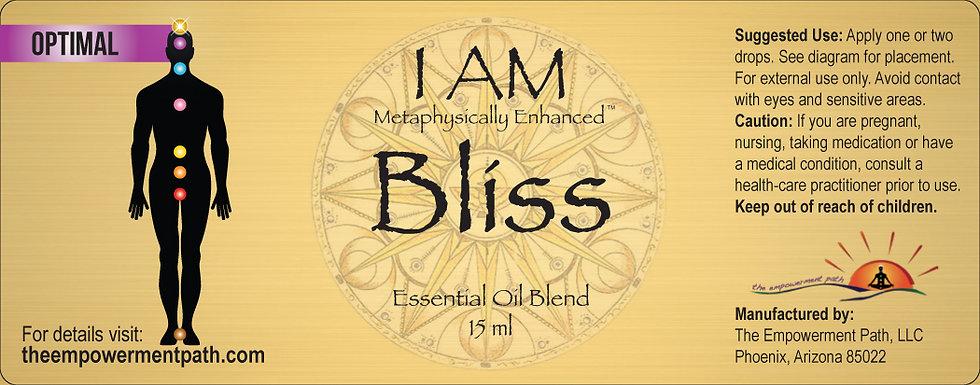 I AM BLISS Metaphysically Enhanced Oil 15ml