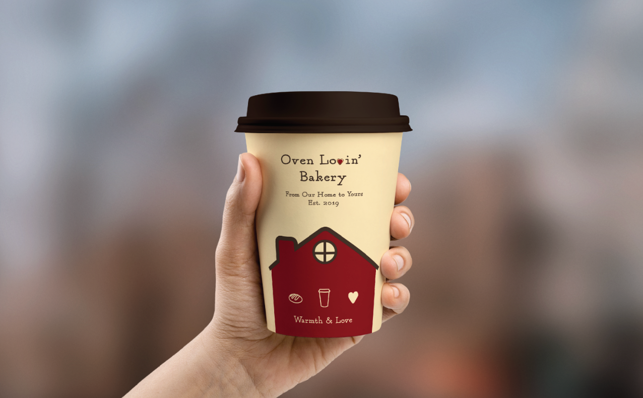 Oven Lovin'Bakery Cup