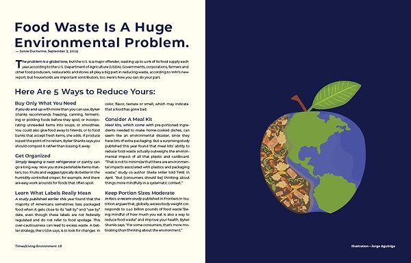 Food Waste Article