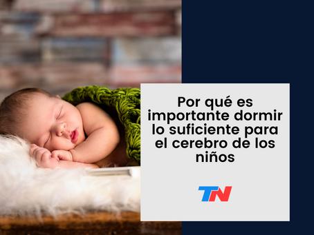 Por qué es importante dormir lo suficiente para el cerebro de los niños