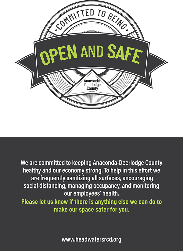 Anaconda-DL_County_Open_and_Safe_Poster.