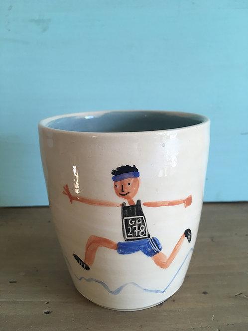 "Mug ""Team blue"""
