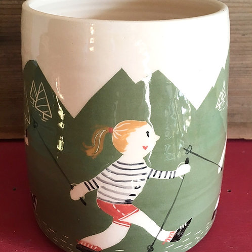 "Vase ""rando en montagne"""