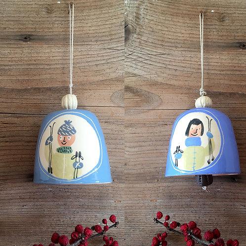 """Clochette """"Les Maillard"""" vont au ski"""