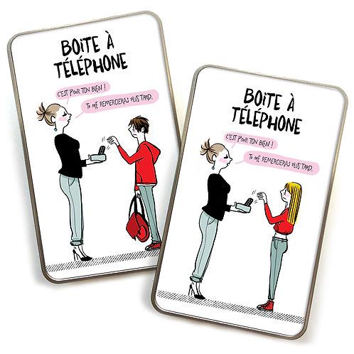 Les boites à téléphone