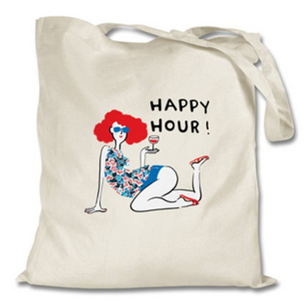 "Totebag ""Happy hour"""