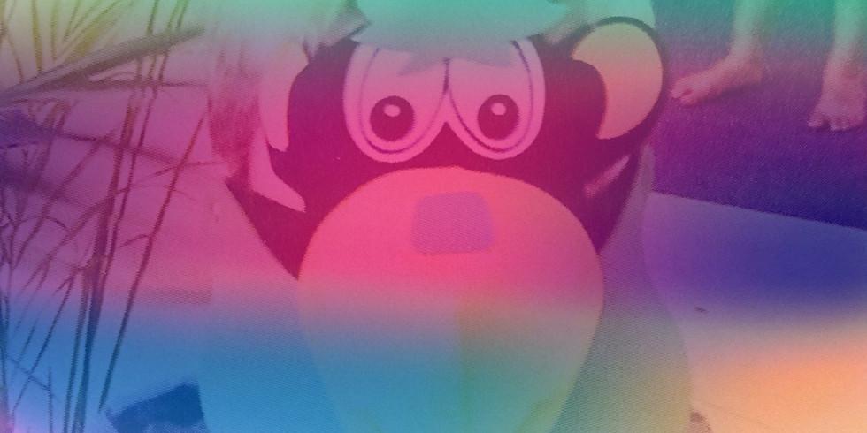 PAST EVENT 'Cheeky Little Monkeys' kids' yoga club