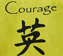 courage flag