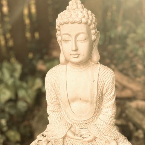 peaceful statue