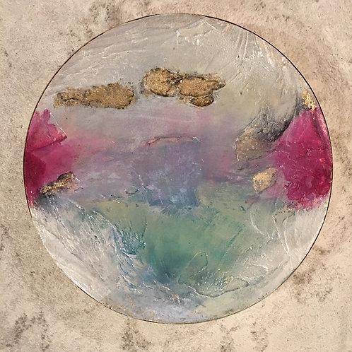 Geode Iridescent & Magenta I