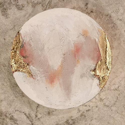 Geode Oyster White & Pink