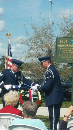 A moving ceremony.