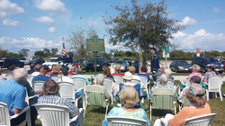 Many Residents Attended the Event.