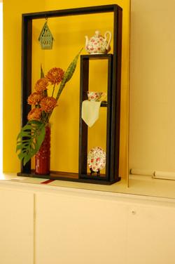 Window box arrangment