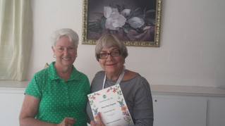 Past President Honored with Penny Pines Donation