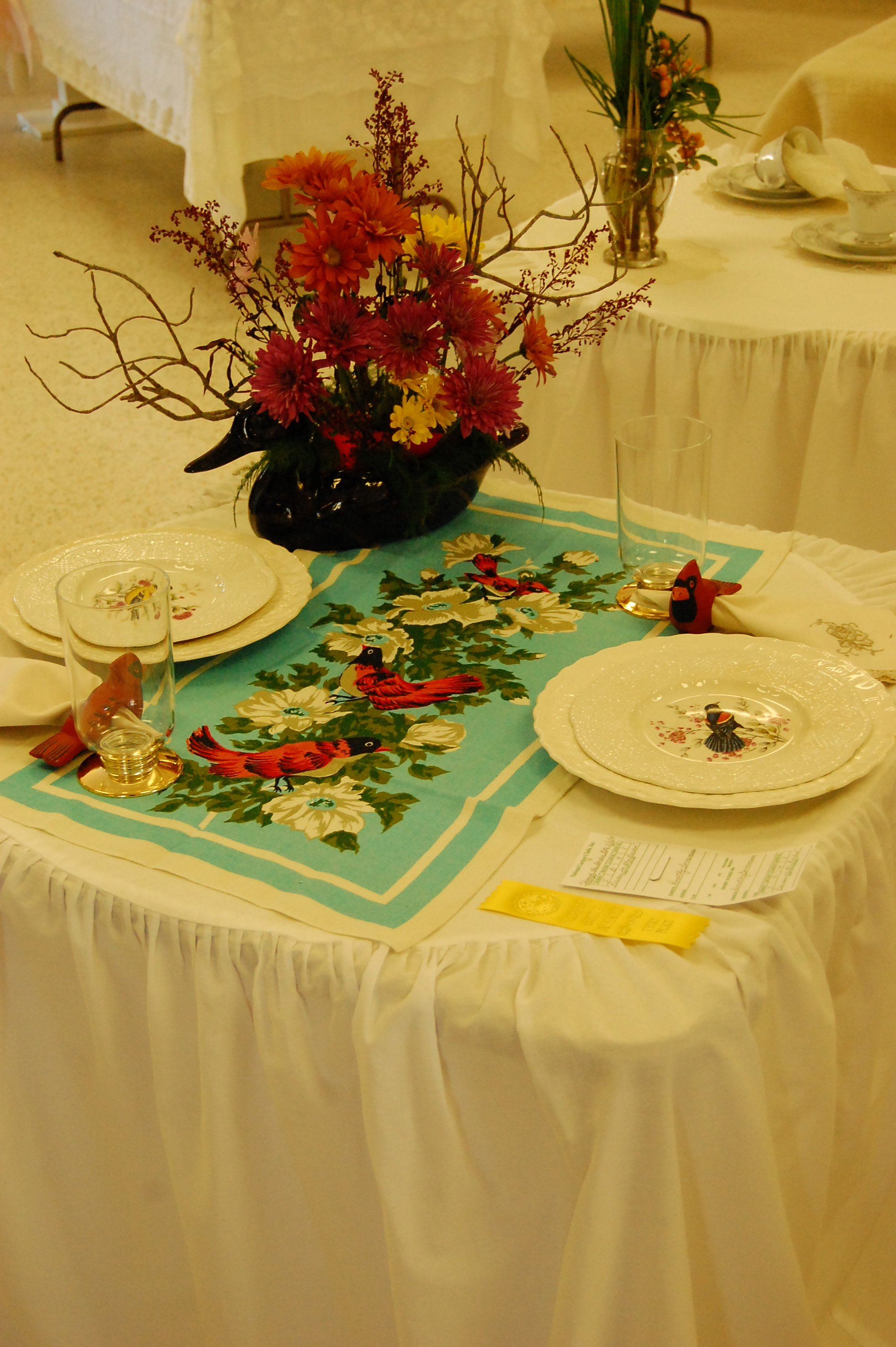 Table setting entry