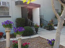 Garden Club Entryway