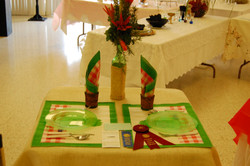 Picnic table setting entry