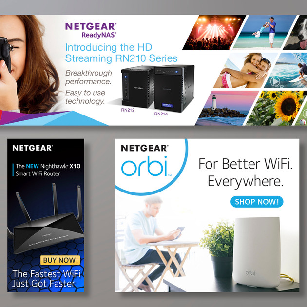 NETGEAR AMAZON BANNERS