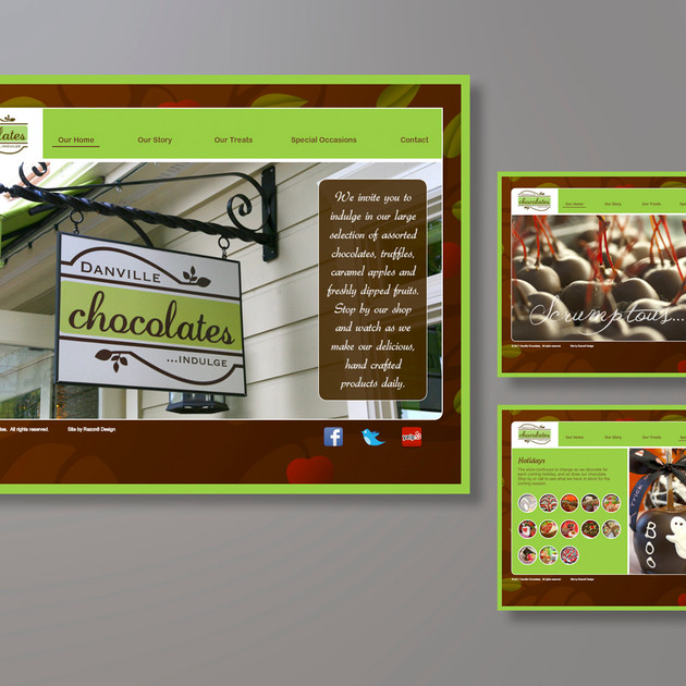 DANVILLE CHOCOLATES WEBSITE