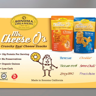 SONOMA CREAMERY FANCY FOOD SHOW WALL