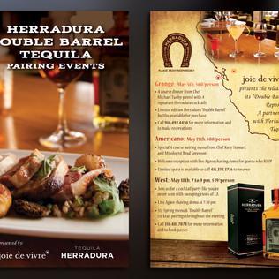 HERRADURA DOUBLE BARREL PAIRING EVENTS INVITE