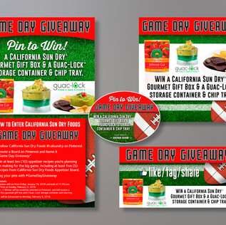 CALIFORNIA SUN DRY FOODS SOCIAL MEDIA GIVEAWAY EVENT