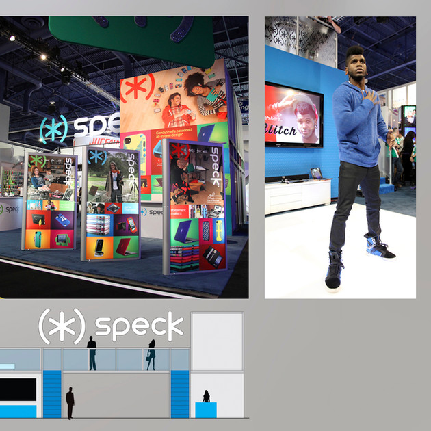 SPECK CES TRADESHOW BOOTH