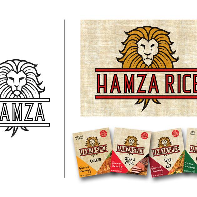 HAMZA LOGO for Product Line