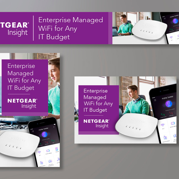 NETGEAR INSIGHT AMAZON BANNERS