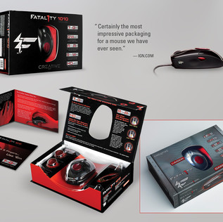 FATAL1TY GAMING MOUSE PACKAGING