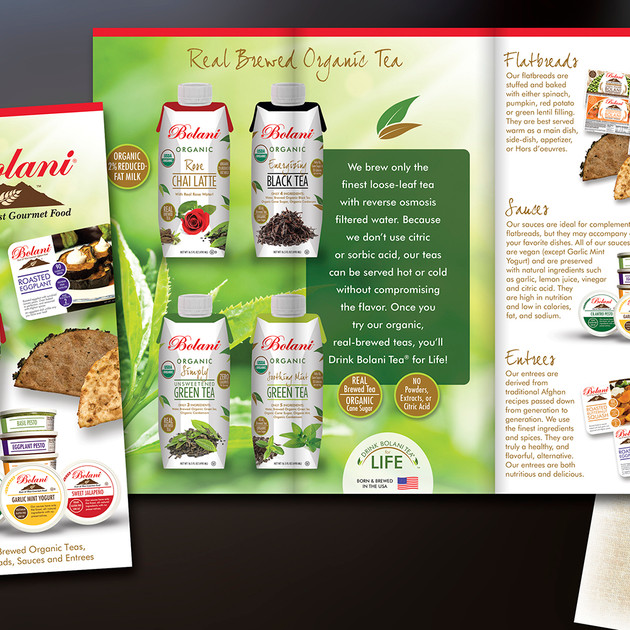 BOLANI BROCHURE - S.F. FANCY FOOD SHOW