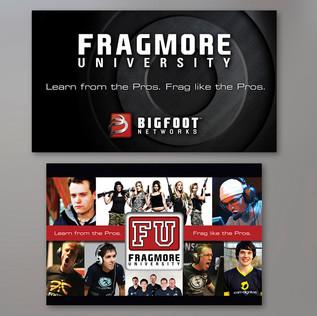 BIGFOOT NETWORKS E3 TRADESHOW WALL