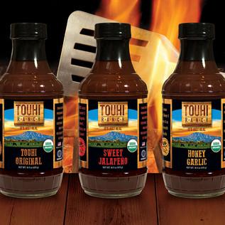 TOUHI RANCH BBQ SAUCE BOTTLES